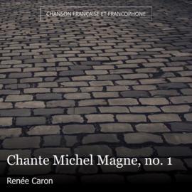 Chante Michel Magne, no. 1