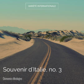 Souvenir d'Italie, no. 3