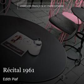 Récital 1961