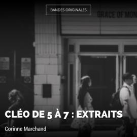 Cléo de 5 à 7 : Extraits