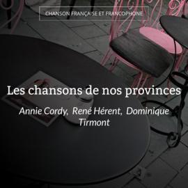 Les chansons de nos provinces
