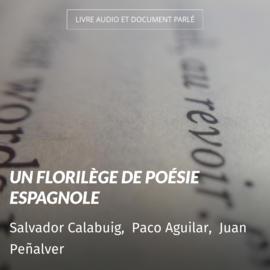 Un florilège de poésie Espagnole