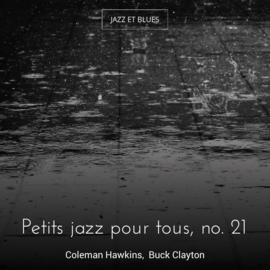 Petits jazz pour tous, no. 21