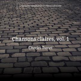 Chansons claires, vol. 1