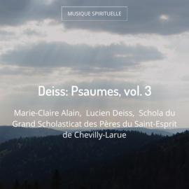 Deiss: Psaumes, vol. 3