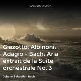 Giazotto, Albinoni: Adagio - Bach: Aria extrait de la Suite orchestrale No. 3