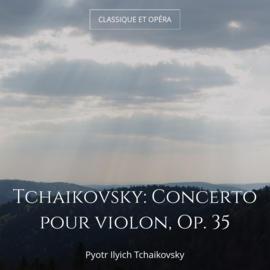 Tchaikovsky: Concerto pour violon, Op. 35