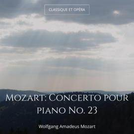Mozart: Concerto pour piano No. 23