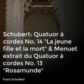 """Schubert: Quatuor à cordes No. 14 """"La jeune fille et la mort"""" & Menuet extrait du Quatuor à cordes No. 13 """"Rosamunde"""""""