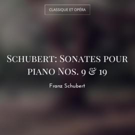 Schubert: Sonates pour piano Nos. 9 & 19