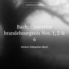 Bach: Concertos brandebourgeois Nos. 1, 2 & 6