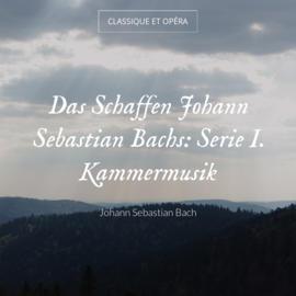 Das Schaffen Johann Sebastian Bachs: Serie I. Kammermusik