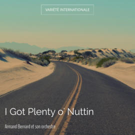 I Got Plenty o' Nuttin