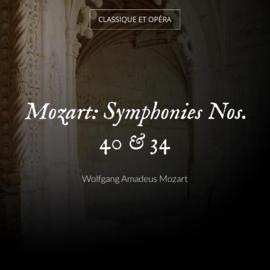 Mozart: Symphonies Nos. 40 & 34