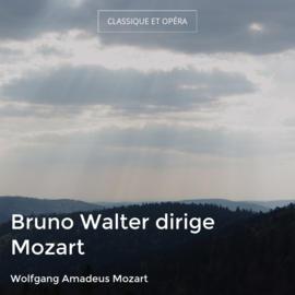 Bruno Walter dirige Mozart