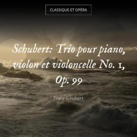 Schubert: Trio pour piano, violon et violoncelle No. 1, Op. 99