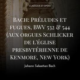 Bach: Préludes et fugues, BWV 532 & 544 (Aux orgues Schlicker de l'église presbytérienne de Kenmore, New York)