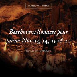Beethoven: Sonates pour piano Nos. 13, 14, 19 & 20