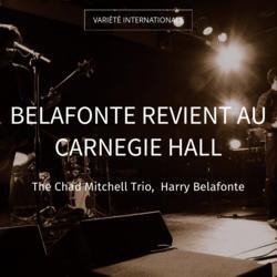 Belafonte revient au Carnegie Hall
