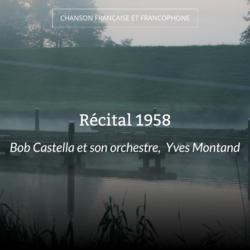 Récital 1958