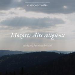 Mozart: Airs religieux
