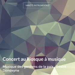 Concert au kiosque à musique