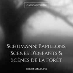Schumann: Papillons, Scènes d'enfants & Scènes de la forêt