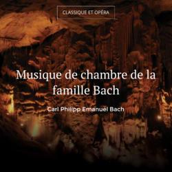 musique de chambre de la famille bach musique