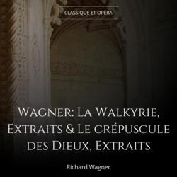 Wagner: La Walkyrie, Extraits & Le crépuscule des Dieux, Extraits