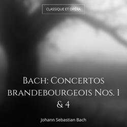 Bach: Concertos brandebourgeois Nos. 1 & 4