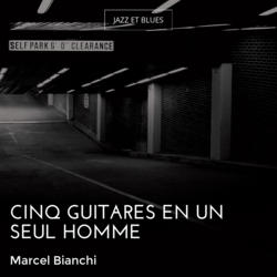 Cinq guitares en un seul homme