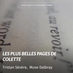 Les plus belles pages de Colette