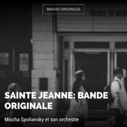 Sainte Jeanne: Bande originale