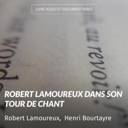Robert Lamoureux dans son tour de chant