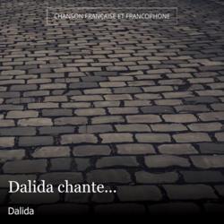 Dalida chante...
