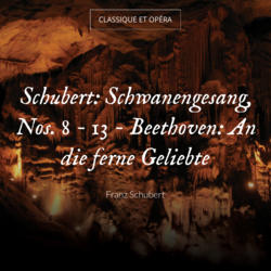 Schubert: Schwanengesang, Nos. 8 - 13 - Beethoven: An die ferne Geliebte