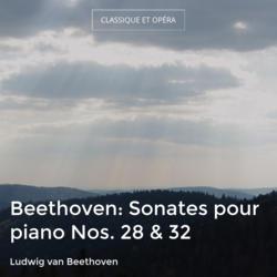 Beethoven: Sonates pour piano Nos. 28 & 32