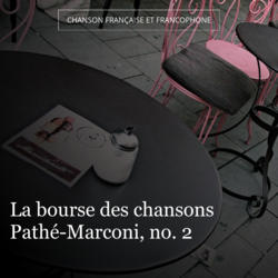 La bourse des chansons Pathé-Marconi, no. 2