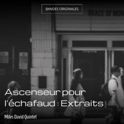 Ascenseur pour l'échafaud : Extraits