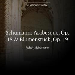 Schumann: Arabesque, Op. 18 & Blumenstück, Op. 19
