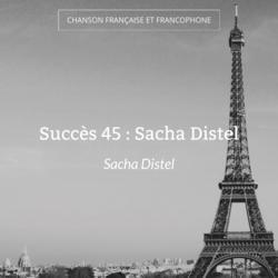 Succès 45 : Sacha Distel