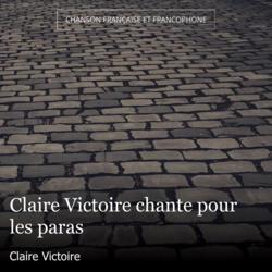 Claire Victoire chante pour les paras