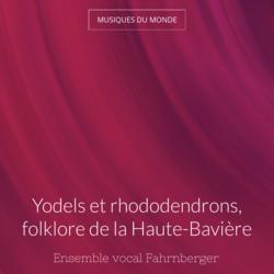 Yodels et rhododendrons, folklore de la Haute-Bavière