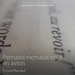 Fernand raynaud no. 6 : en avion