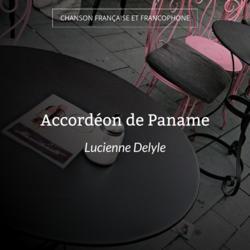 Accordéon de Paname