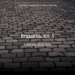 Brassens, no. 5