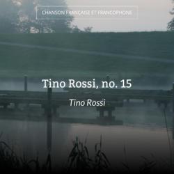 Tino Rossi, no. 15