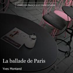 La ballade de Paris