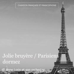 Jolie bruyère / Parisiens dormez