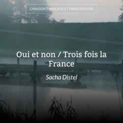 Oui et non / Trois fois la France
